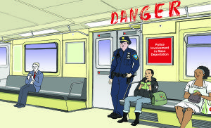 Graphic Novel: DANGER!: Police Involvement in Mass Deportation